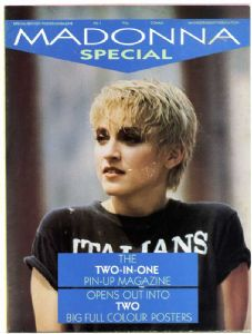 MADONNA SPECIAL - UK 1986 COMAG POSTER MAGAZINE